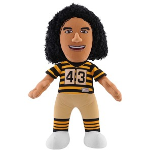 MASCOTTE BLEACHER CREATURES TROY POLAMALU PITTSBURGH STEELERS
