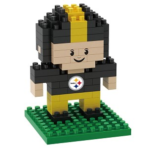 PUZZLE FOREVER 3D BRXLZ NFL TEAM PLAYER  PITTSBURGH STEELERS