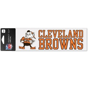 ADESIVO WINCRAFT SQUADRA NFL 7,5 X 25 CM  CLEVELAND BROWNS