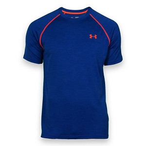 MAGLIA UNDER ARMOUR HG LOOSE FIT 1228539  BLU ROYAL