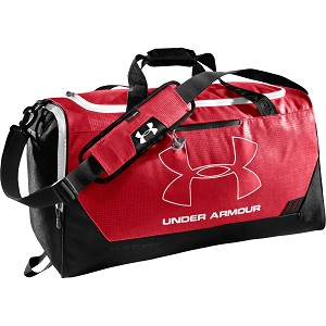 BORSA UNDER ARMOUR 1239353 HUSTLE DUFFEL MEDIUM  ROSSO