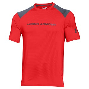 TSHIRT UNDER ARMOUR EXCLUSIVE LOOSE TEE 1271934  ROSSO