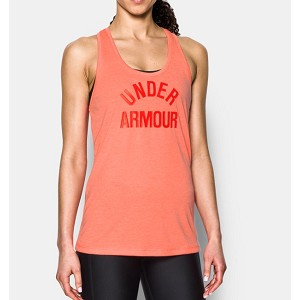 TSHIRT UNDER ARMOUR 1290612 W THREADBORNE TRAIN  ARANCIONE