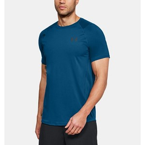 TSHIRT UNDER ARMOUR 1323415 RAID 2.0 SS  BLU