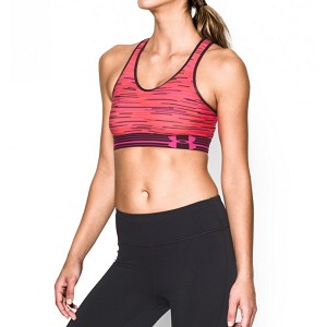 TOP SPORTIVO UNDER ARMOUR W STOCK RUNNING  ROSA