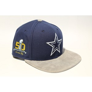 CAPPELLO NEW ERA 9FIFTY SB50 TEAM SUEDE   DALLAS COWBOYS