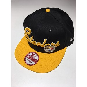 CAPPELLO NEW ERA 9FIFTY SUPER SCRIPT PITTSBURGH STEELERS