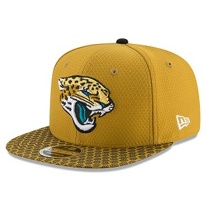 CAPPELLO NEW ERA 9FIFTY SIDELINE 17 ONF  JACKSONVILLE JAGUARS