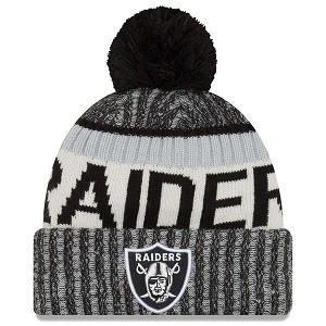 CAPPELLO NEW ERA KNIT SIDELINE 2017 NFL  OAKLAND RAIDERS