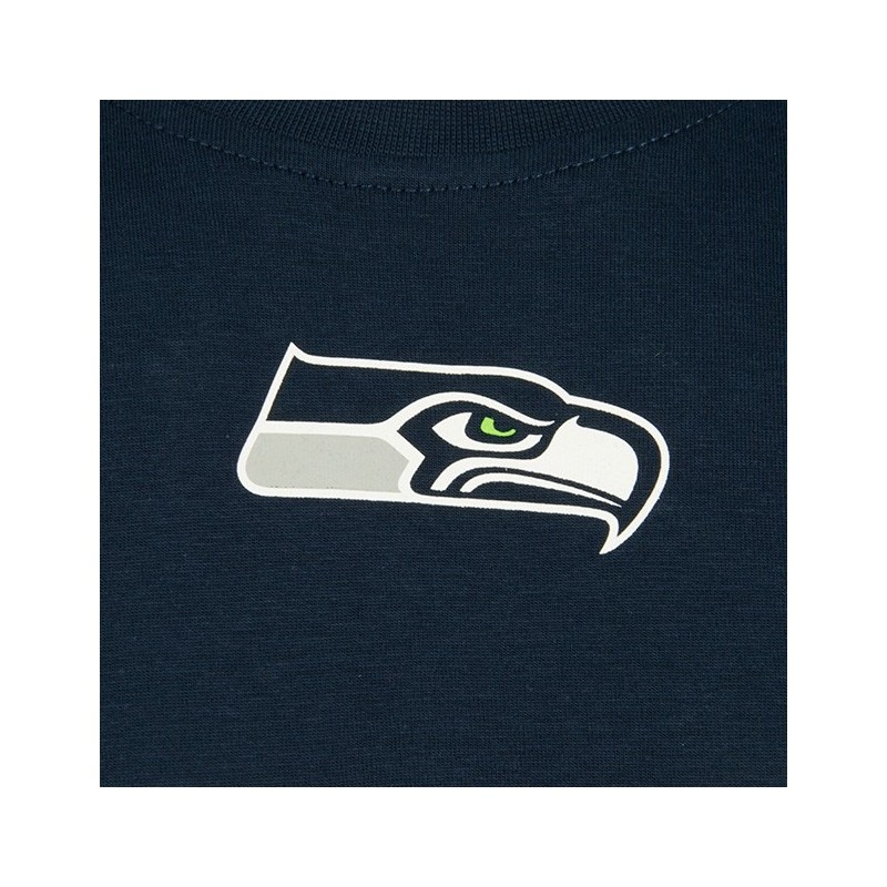 Tshirt New Era Number Classic Blu Seattle Seahawks Tshirts