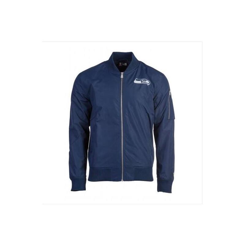 Giubbotto New Era Nfl Bomber Jacket Seattle Seahawks