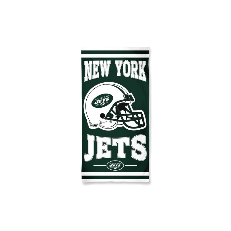 Asciugamano Wincraft Fibre Beach 75 X 150 Cm New York Jets