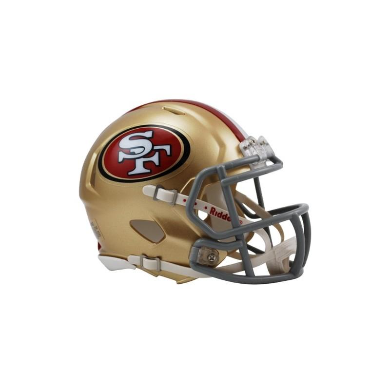 Mini Helmet Riddell Revo Speed San Francisco 49ers Gadgets