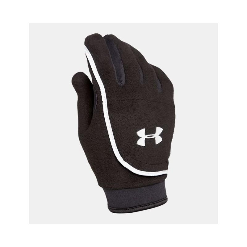 Guanto Under Armour 1006611 Donna Fleece Gloves Nero Donna