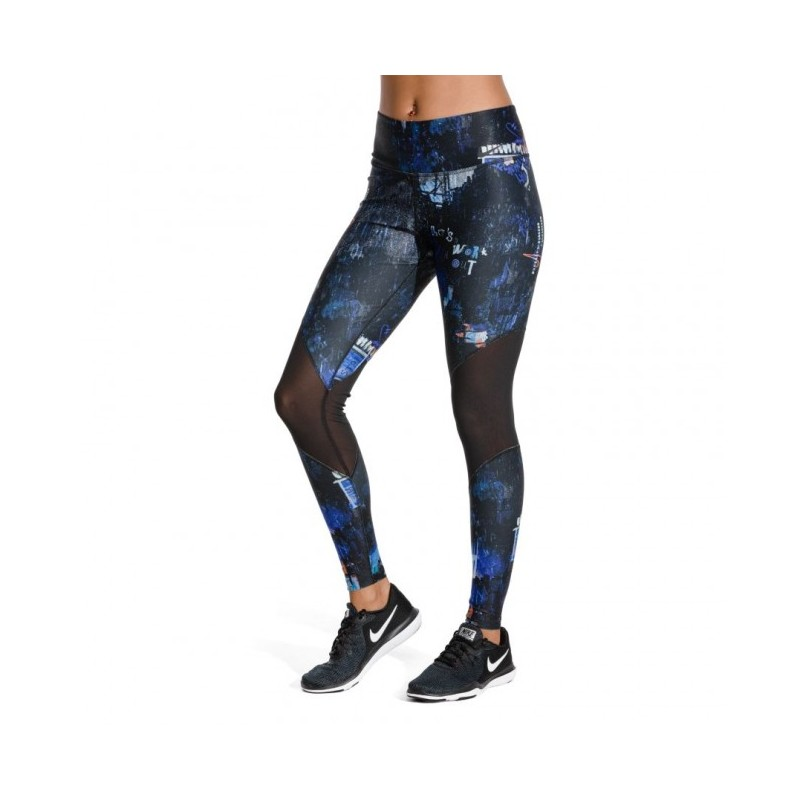 leggings blu nike