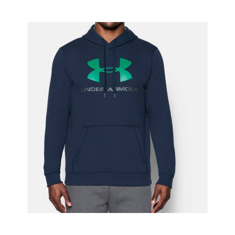 FELPA-UNDER-ARMOUR-1302294-RIVAL-FITTED-GRAPHIC-BLU