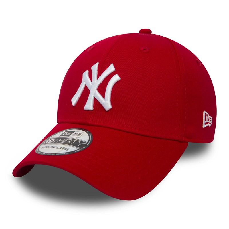 CAPPELLO NEW ERA 9FORTY KIDS LEAGUE BASIC NYY ROSSO  8ac9f4a1dcad