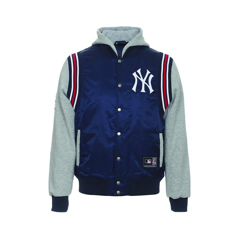 Giubbotto Majestic Mny1228nl New York Yankees Blu Navy