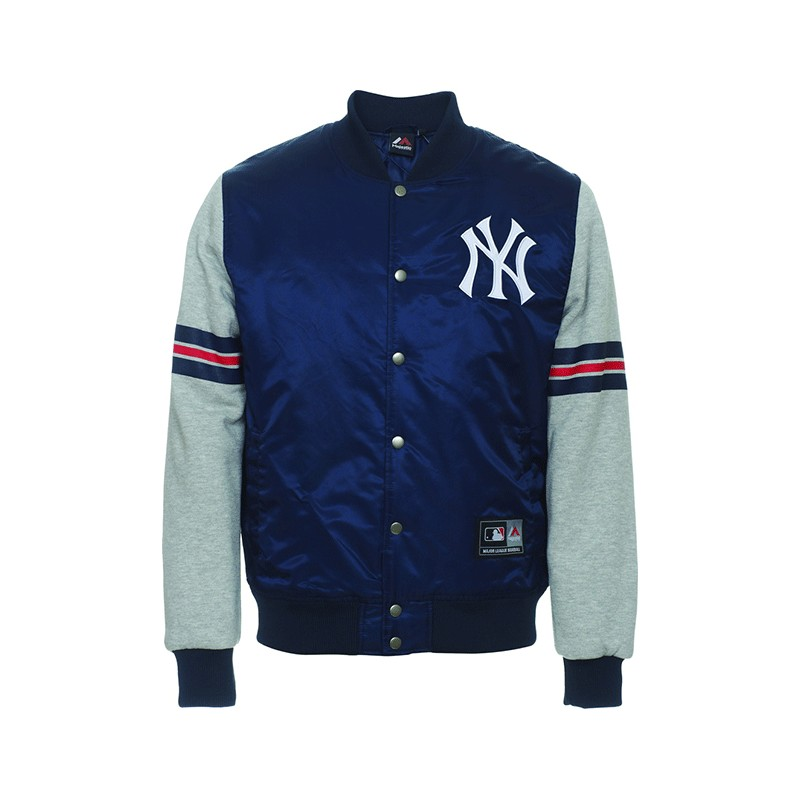 Giubbotto Majestic Mny1232nl New York Yankees Blu Navy