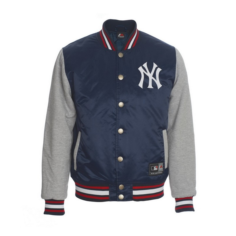 GIUBBOTTO MAJESTIC NEW YORK YANKEES CREECH BLU GIUBBOTTI BASEBALL ... 099909aac7db