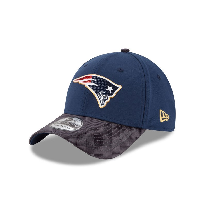 nfl cappello  CAPPELLO NEW ERA GOLD COLLECTION 39THIRTY NFL NEW ENGLAND PATRIOTS ...