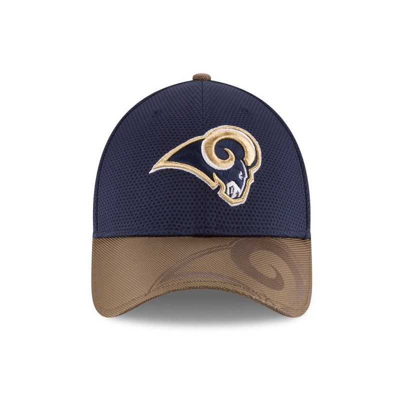 CAPPELLO NEW ERA NFL 39THIRTY SIDELINE 16 LOS ANGELES RAMS 39THIRTY ... deef6fc4c05e