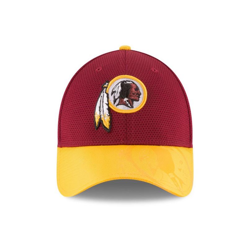 CAPPELLO NEW ERA NFL 39THIRTY SIDELINE 16 WASHINGTON REDSKINS ... ead6cd7d96c0