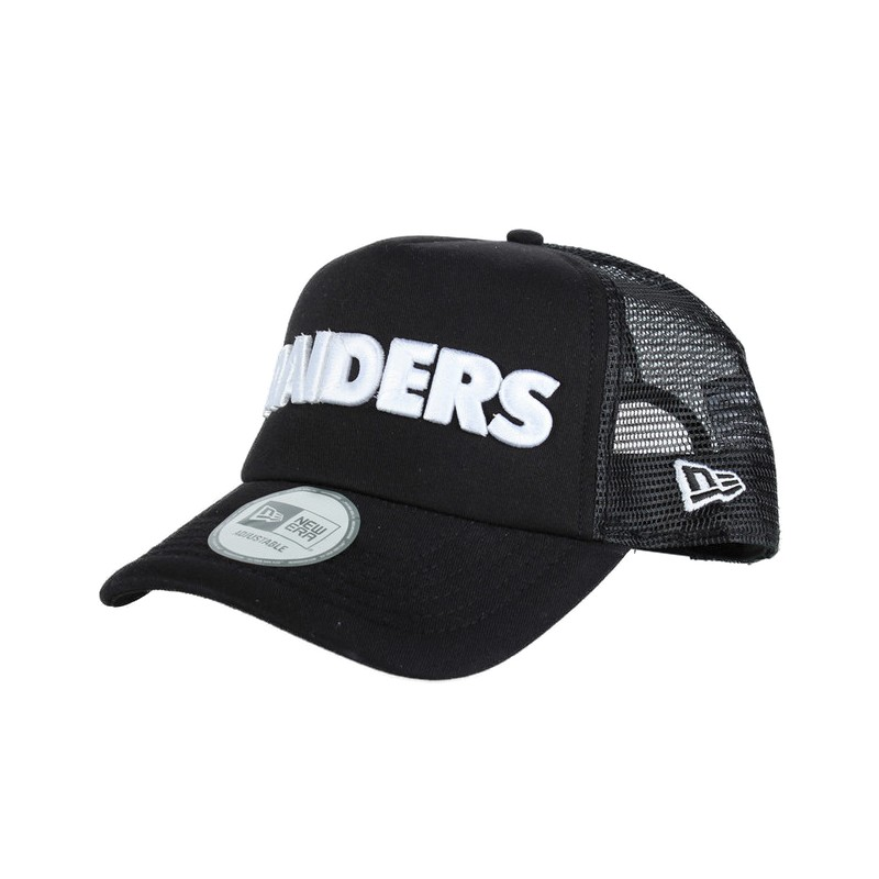 CAPPELLO NEW ERA TRUCKER TEAM OAKLAND RAIDERS TRUCKER FOOTBALL NFL ... aa24ea2d63d5