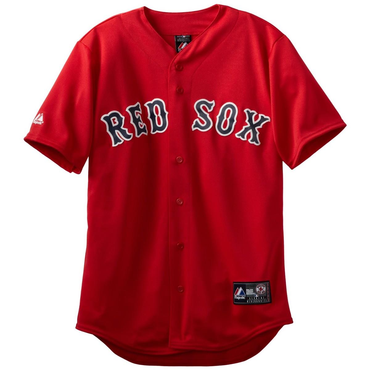 Jersey Mlb Majestic Replica Boston Red Sox Replica Jersey