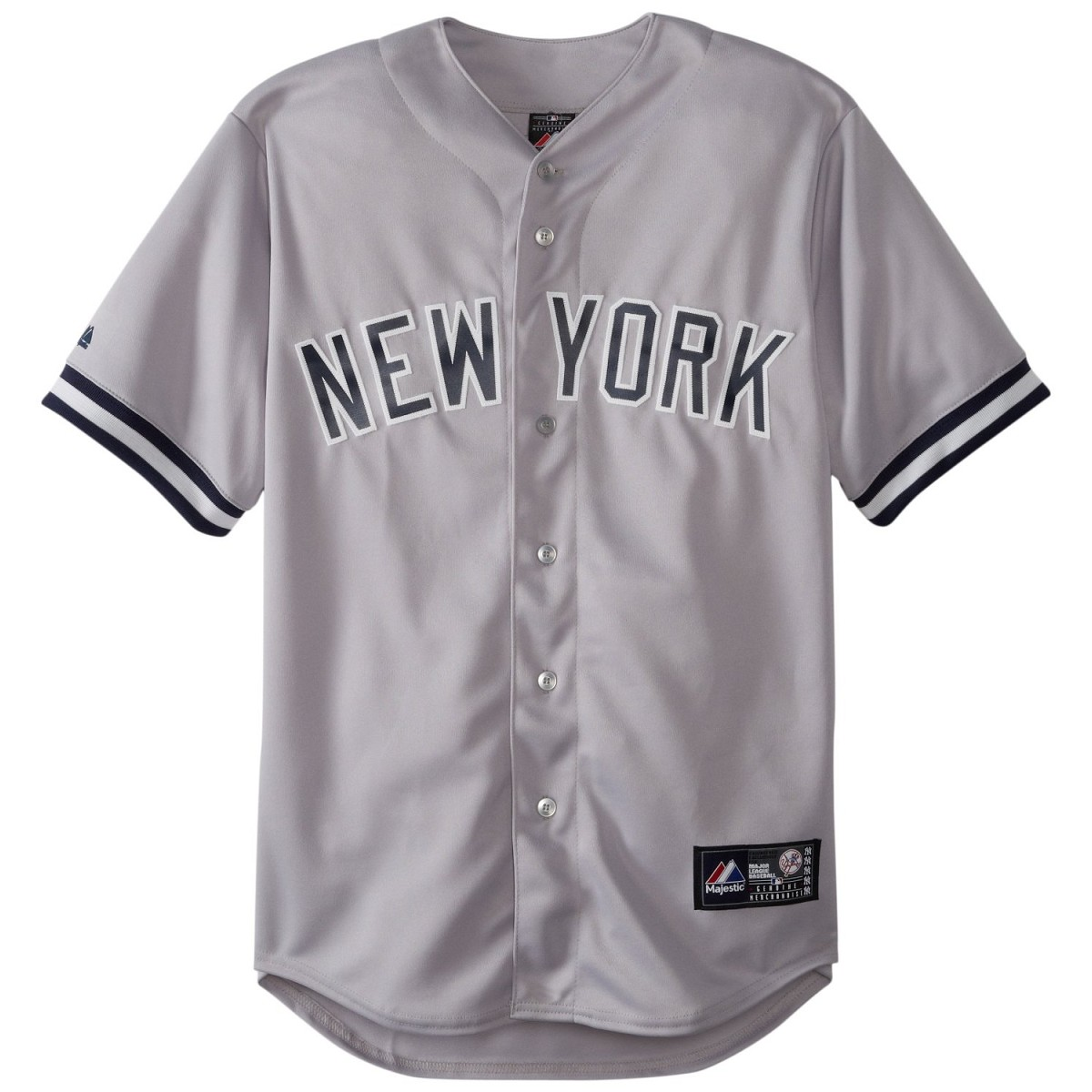 Jersey Mlb Majestic Replica New York Yankees Away Replica