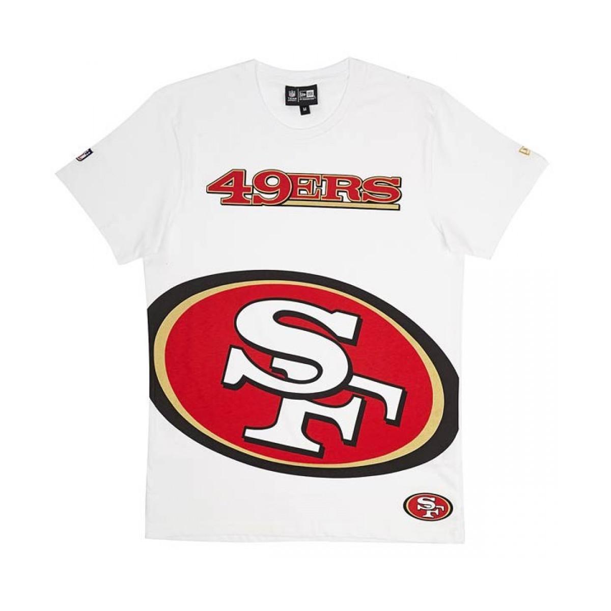 Tshirt New Era Big Logo Tee Nfl San Francisco 49ers