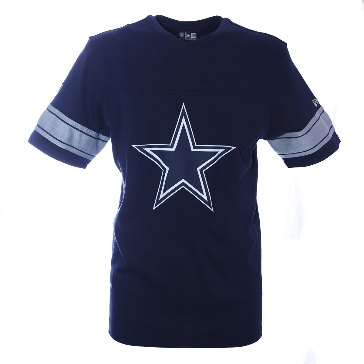 TSHIRT NEW ERA SB50 NFL V NECK DALLAS COWBOYS JERSEYS APPAREL NFL NEW ERA