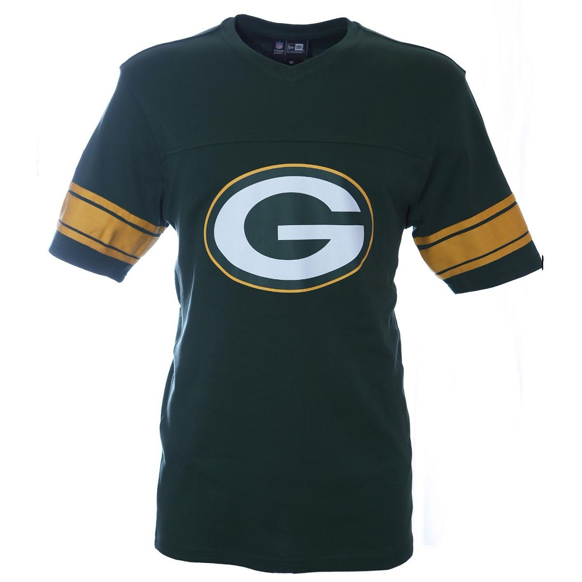 Tshirt New Era Sb50 Nfl V Neck Green Bay Packers Jerseys