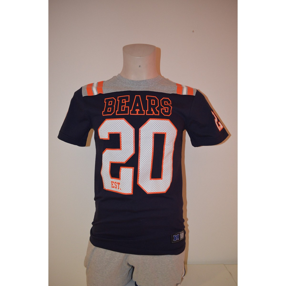 Tshirt Majestic Gatril Number Chicago Bears Maglie