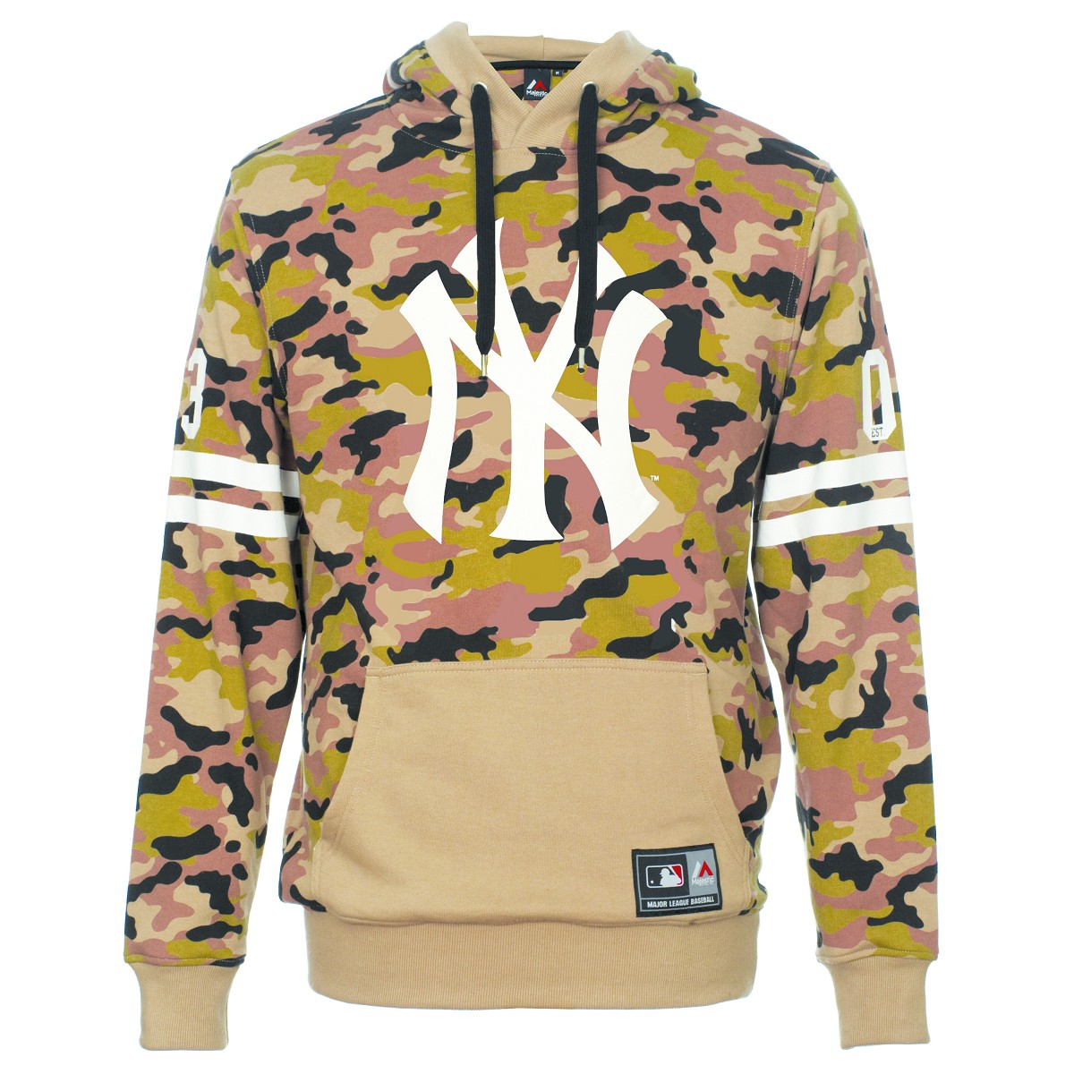 FELPA MAJESTIC BUCKLEY CAMO NEW YORK YANKEES FELPE BASEBALL MLB ... 31a1854c7b45