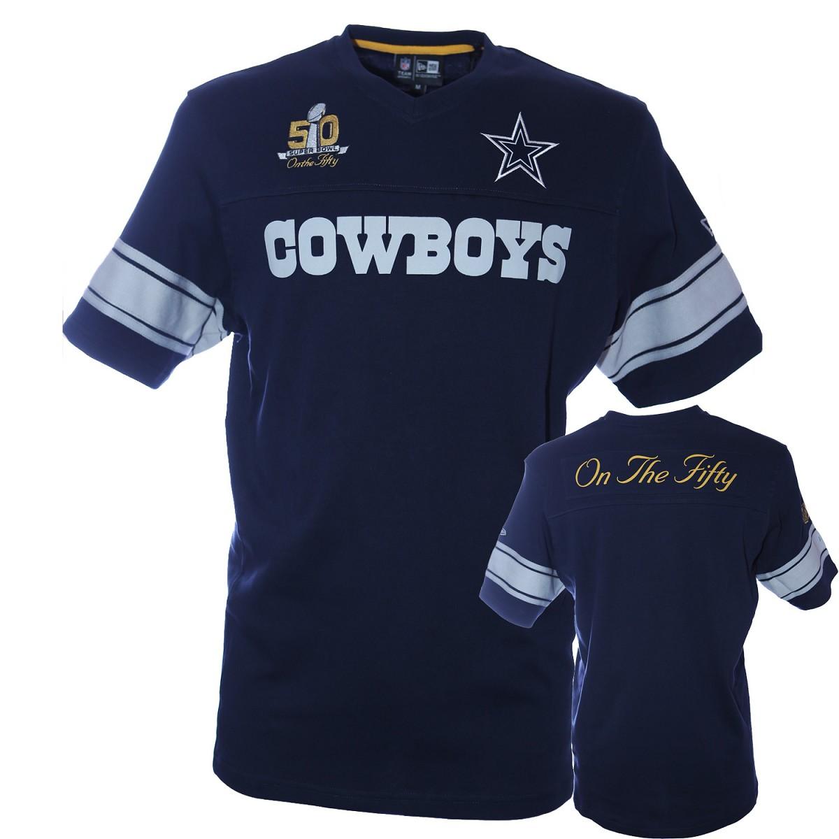 Jersey Nfl New Era Sb50 Af Dallas Cowboys Jerseys Apparel