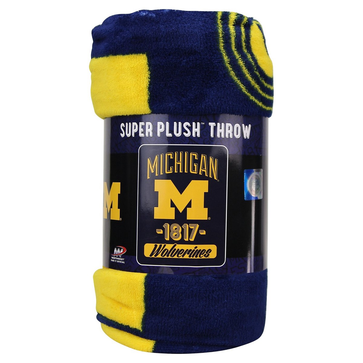 Coperta Northwest Varsity Blanket Ncaa Univ Of Michigan