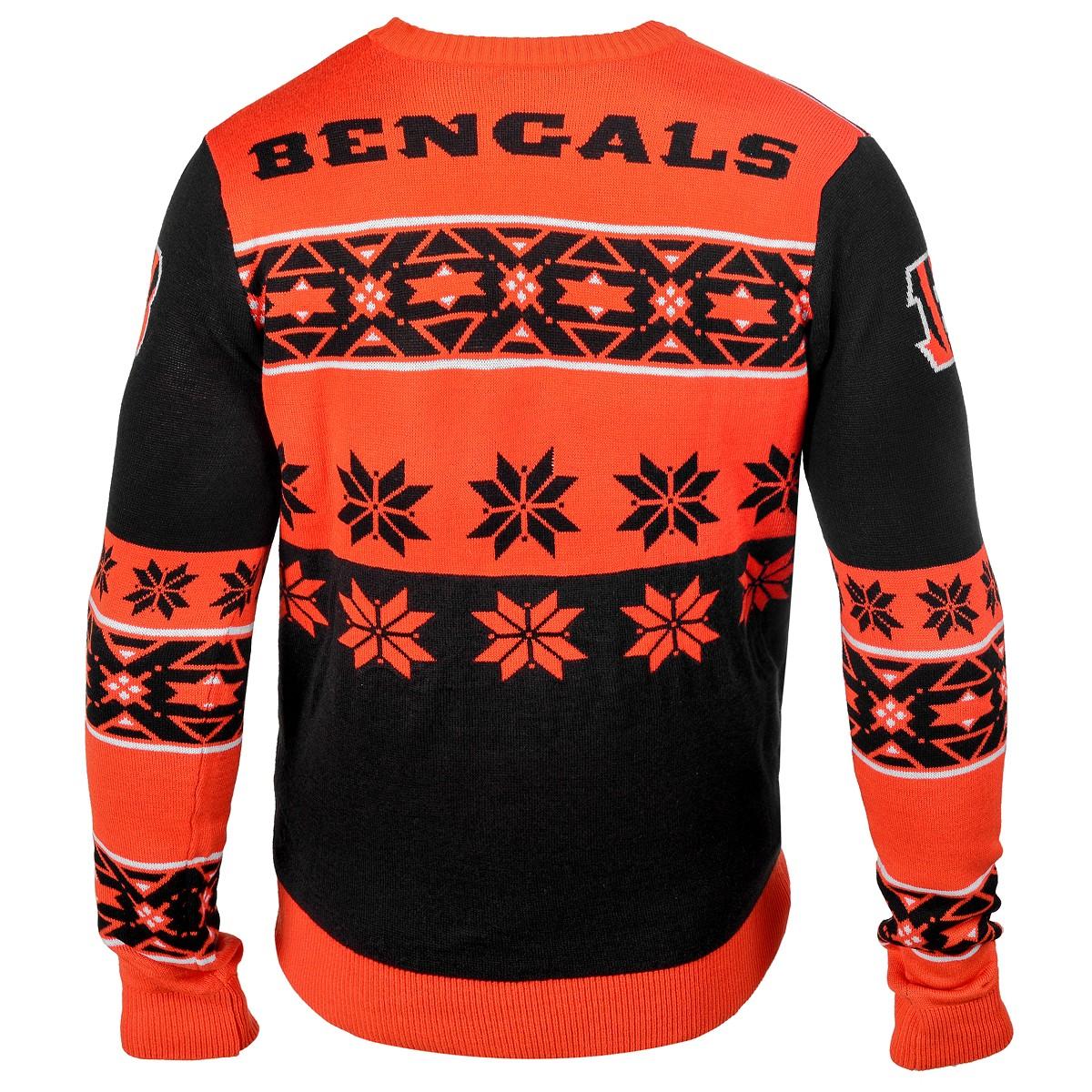 Maglione Forever Big Logo Crew Neck Cincinnati Bengals