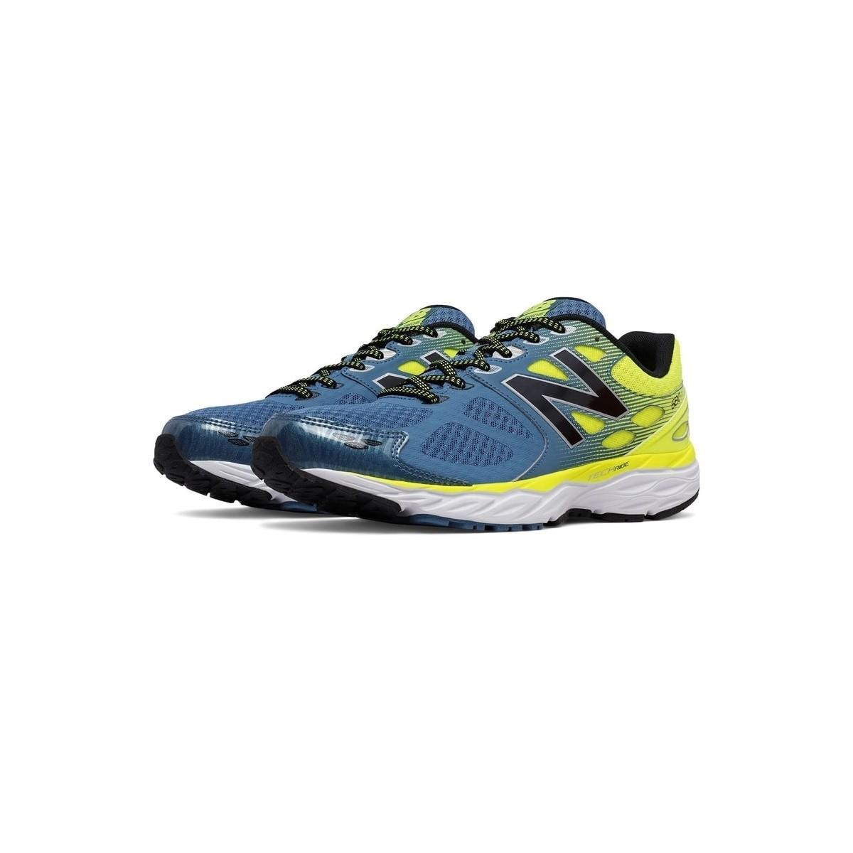 scarpa running uomo gialla new balance