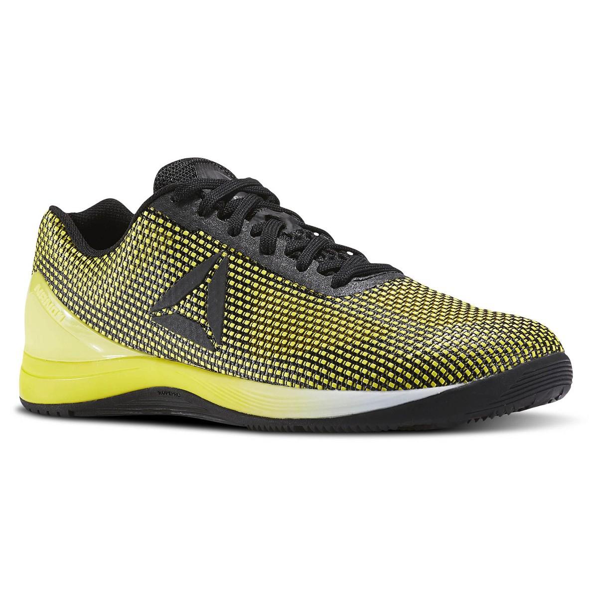 scarpa reebok crossfit nano 7 0 bd5020 giallo scarpe uomo crossfit reebok. Black Bedroom Furniture Sets. Home Design Ideas
