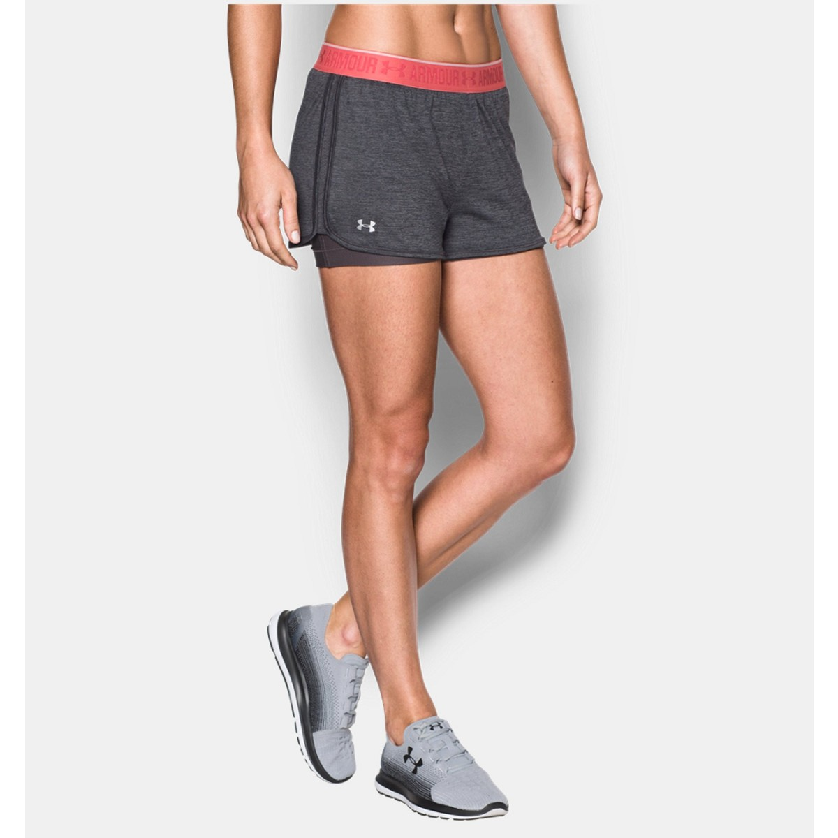 Pantalone Under Armour 1290800 W Hg 2 In 1 Shorty Grigio