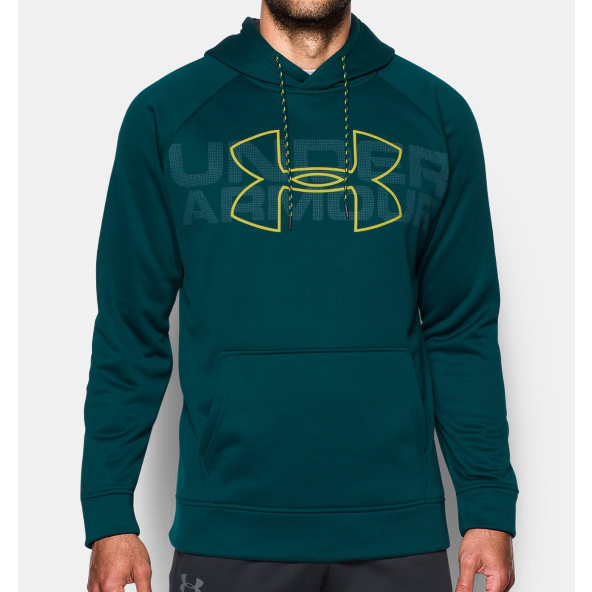 Felpa Under Armour 1313503 Storm Graphic Po Verde Felpe