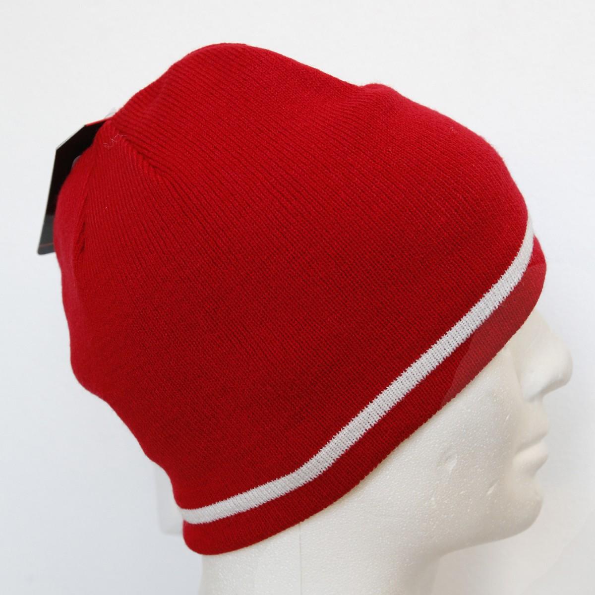 Cappello Under Armour Gridline Beanie 1208911 Rosso