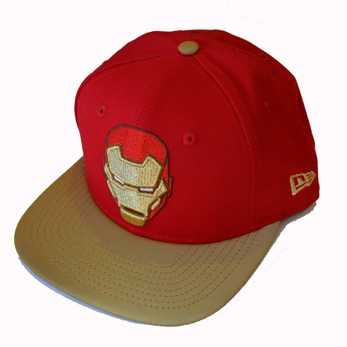 Cappello new era 9fifty avengers ii ironman rosso 9fifty for Logo cappello rosso