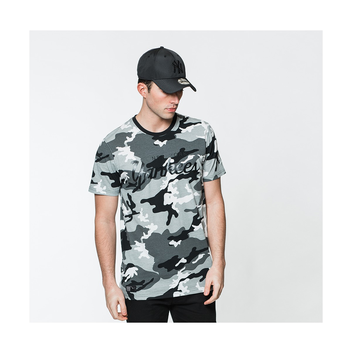 Tshirt New Era Team App New York Yankees Camo Tshirts
