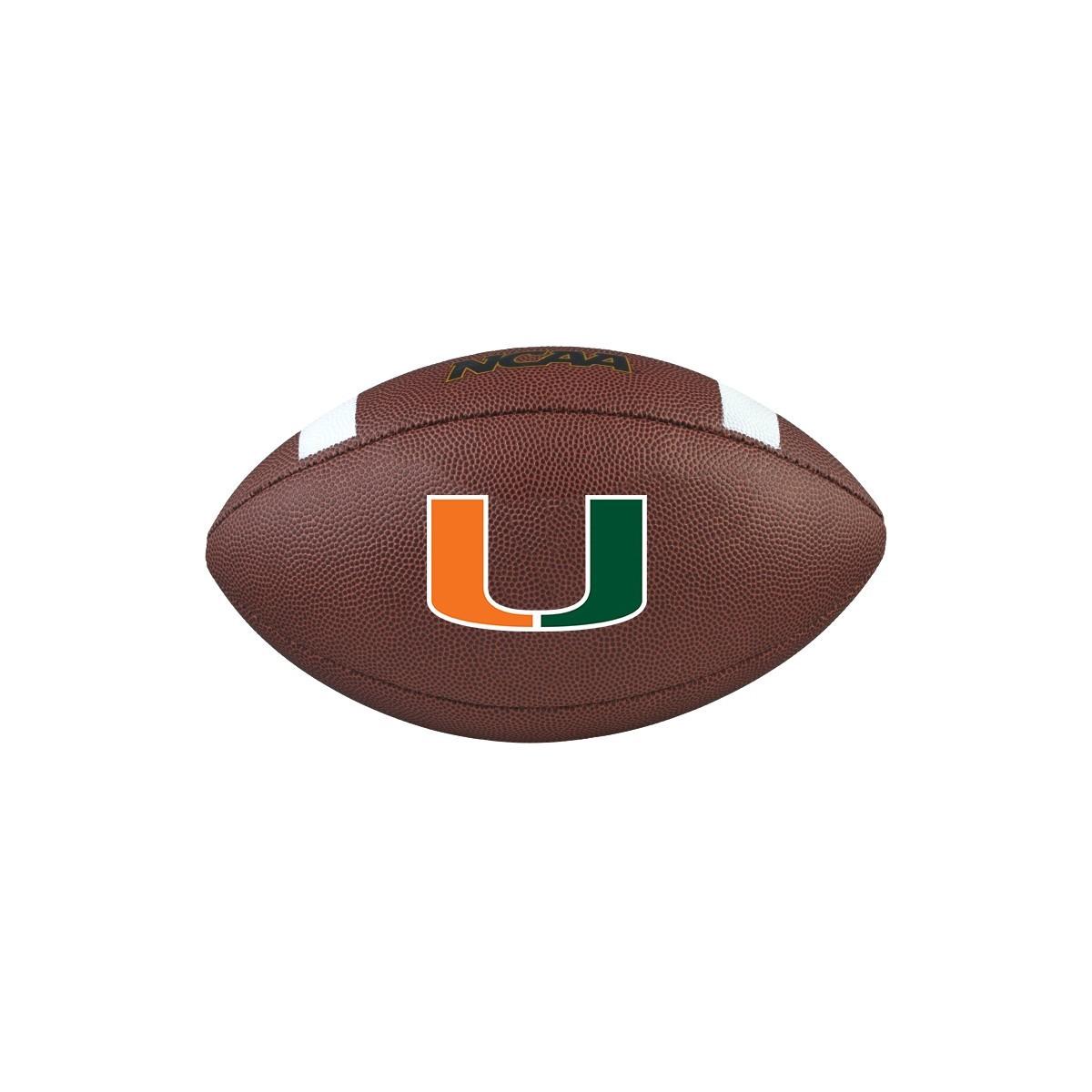Pallone Wilson Wtf1738 Ncaa Team Composite Univ Of Miami