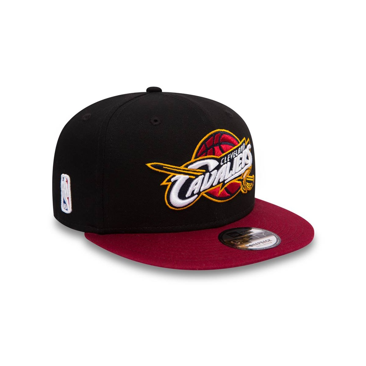 CAPPELLO NEW ERA 9FIFTY BLACK BASE CLEVELAND CAVALIERS BASKET NBA ... a4d600c9b54d
