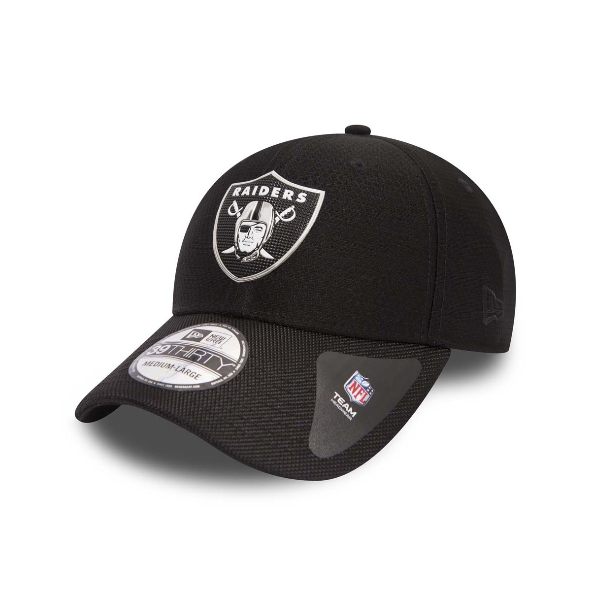 CAPPELLO NEW ERA 39THIRTY NFL BLACK COLL OAKLAND RAIDERS 39THIRTY ... 99e06d65b5fe
