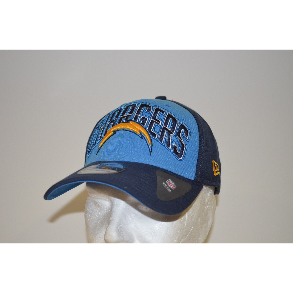 San Diego Chargers Fleece Fabric: CAPPELLO NEW ERA 39THIRTY DRAFT 13 SAN DIEGO CHARGERS
