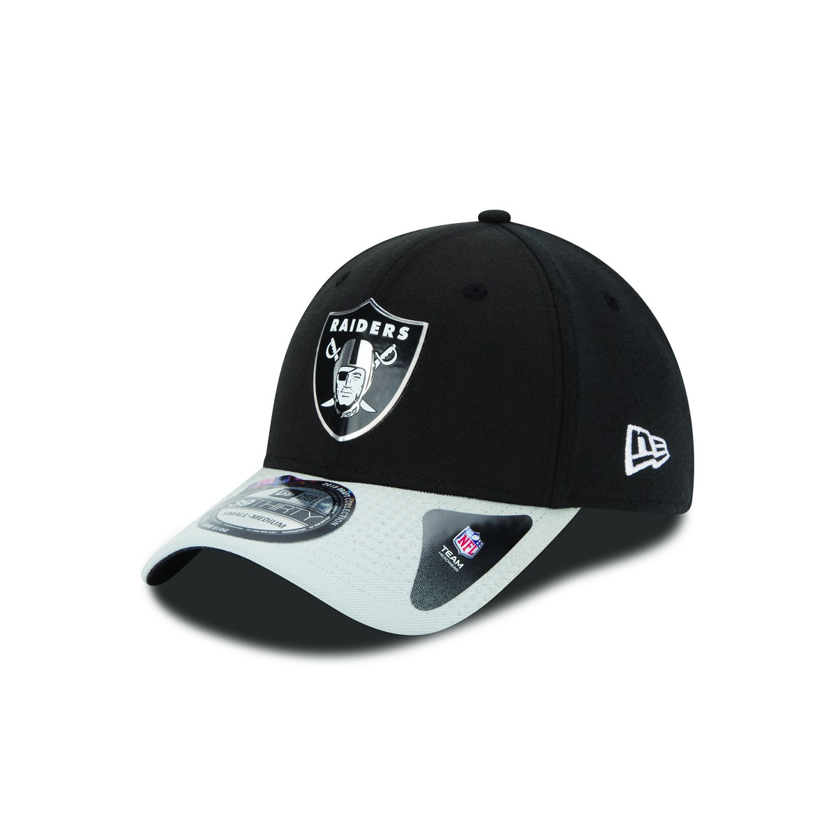 CAPPELLO NEW ERA 39THIRTY DRAFT 15 OAKLAND RAIDERS 39THIRTY FOOTBALL ... cc8469abab91